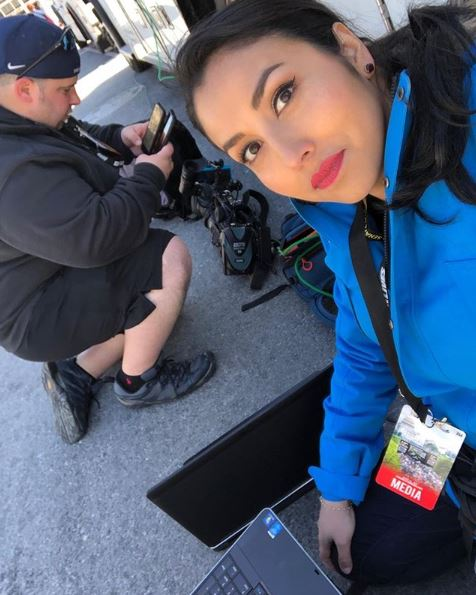 """Putting together our story during """"March For Our Lives"""" in Washington D.C."""